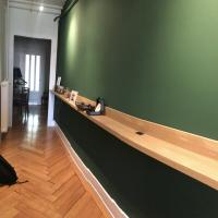 Genève, rénovation, espace déco, peinture naturelle, écologique, St jean,